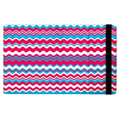 Waves Pattern Apple Ipad 3/4 Flip Case by LalyLauraFLM
