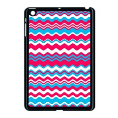 Waves Pattern Apple Ipad Mini Case (black)