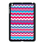 Waves pattern Apple iPad Mini Case (Black) Front