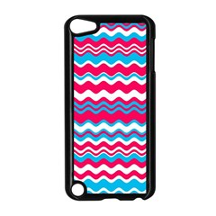 Waves Pattern Apple Ipod Touch 5 Case (black) by LalyLauraFLM