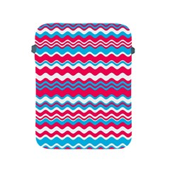Waves Pattern Apple Ipad 2/3/4 Protective Soft Case by LalyLauraFLM