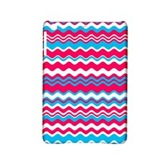 Waves Pattern Apple Ipad Mini 2 Hardshell Case by LalyLauraFLM