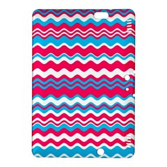 Waves Pattern Kindle Fire Hdx 8 9  Hardshell Case by LalyLauraFLM