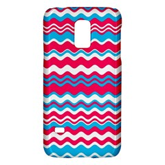 Waves Pattern Samsung Galaxy S5 Mini Hardshell Case  by LalyLauraFLM