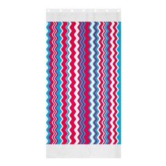 Waves Pattern Shower Curtain 36  X 72  (stall) by LalyLauraFLM