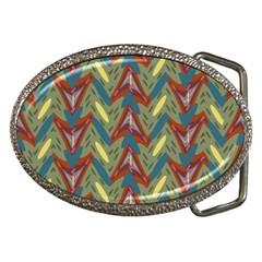Shapes pattern Belt Buckle by LalyLauraFLM