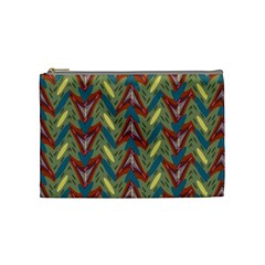 Shapes Pattern Cosmetic Bag (medium) by LalyLauraFLM