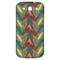 Shapes Pattern Samsung Galaxy S3 S Iii Classic Hardshell Back Case by LalyLauraFLM