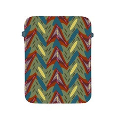 Shapes Pattern Apple Ipad 2/3/4 Protective Soft Case by LalyLauraFLM