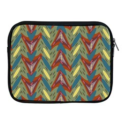 Shapes pattern Apple iPad 2/3/4 Zipper Case by LalyLauraFLM