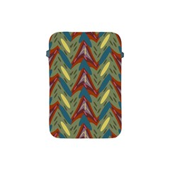 Shapes Pattern Apple Ipad Mini Protective Soft Case by LalyLauraFLM