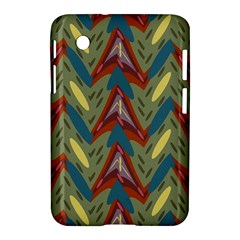 Shapes Pattern Samsung Galaxy Tab 2 (7 ) P3100 Hardshell Case  by LalyLauraFLM