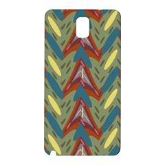 Shapes Pattern Samsung Galaxy Note 3 N9005 Hardshell Back Case by LalyLauraFLM