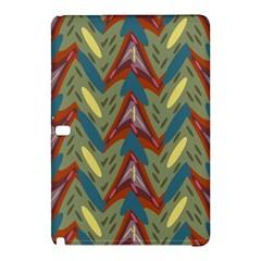 Shapes pattern Samsung Galaxy Tab Pro 10.1 Hardshell Case by LalyLauraFLM