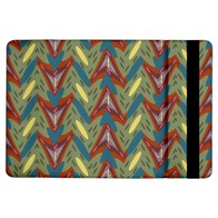 Shapes Pattern Apple Ipad Air Flip Case by LalyLauraFLM