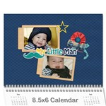 Wall Calendar 8.5 x 6: Little Man - Wall Calendar 8.5  x 6