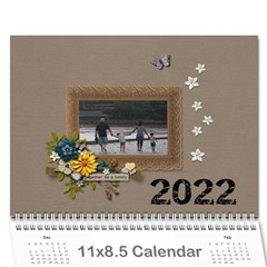 Wall Calendar 11 X 8 5 : Together As Family By Jennyl   Wall Calendar 11  X 8 5  (12 Months)   Aicl4ydu2kyq   Www Artscow Com Cover