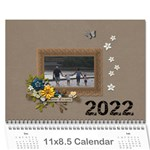 Wall Calendar 11 x 8.5 : Together as Family - Wall Calendar 11  x 8.5  (12-Months)