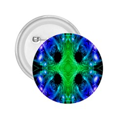 Alien Snowflake 2 25  Button by icarusismartdesigns