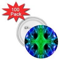 Alien Snowflake 1 75  Button (100 Pack) by icarusismartdesigns
