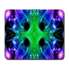 Alien Snowflake Large Mouse Pad (rectangle) by icarusismartdesigns