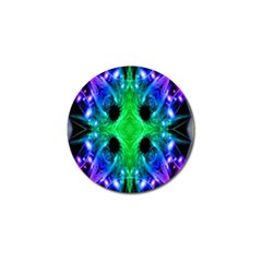 Alien Snowflake Golf Ball Marker 10 Pack by icarusismartdesigns