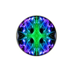 Alien Snowflake Golf Ball Marker (for Hat Clip) by icarusismartdesigns