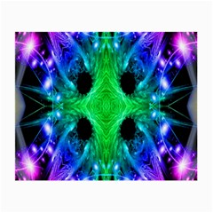 Alien Snowflake Glasses Cloth (small) by icarusismartdesigns