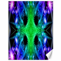 Alien Snowflake Canvas 36  X 48  (unframed) by icarusismartdesigns