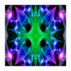 Alien Snowflake Glasses Cloth (medium) by icarusismartdesigns