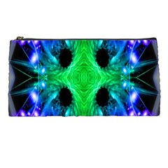 Alien Snowflake Pencil Case by icarusismartdesigns