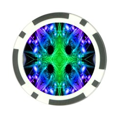 Alien Snowflake Poker Chip (10 Pack) by icarusismartdesigns