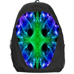 Alien Snowflake Backpack Bag Front