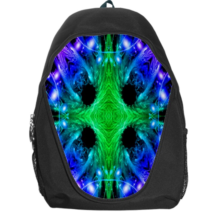 Alien Snowflake Backpack Bag
