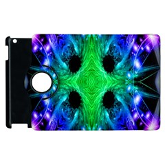 Alien Snowflake Apple Ipad 2 Flip 360 Case by icarusismartdesigns