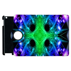 Alien Snowflake Apple Ipad 3/4 Flip 360 Case by icarusismartdesigns