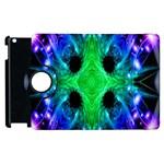 Alien Snowflake Apple iPad 3/4 Flip 360 Case Front