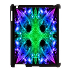Alien Snowflake Apple Ipad 3/4 Case (black) by icarusismartdesigns