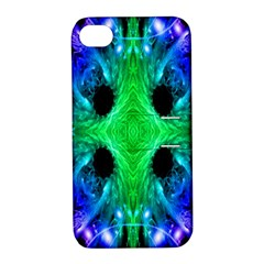 Alien Snowflake Apple Iphone 4/4s Hardshell Case With Stand by icarusismartdesigns