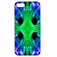 Alien Snowflake Apple Iphone 5 Hardshell Case With Stand by icarusismartdesigns