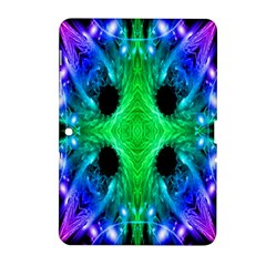 Alien Snowflake Samsung Galaxy Tab 2 (10 1 ) P5100 Hardshell Case  by icarusismartdesigns