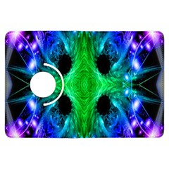 Alien Snowflake Kindle Fire Hdx Flip 360 Case by icarusismartdesigns