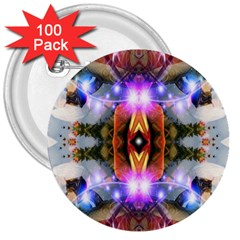 Connection 3  Button (100 Pack) by icarusismartdesigns
