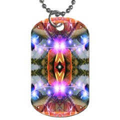 Connection Dog Tag (two Sided)  by icarusismartdesigns
