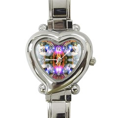 Connection Heart Italian Charm Watch  by icarusismartdesigns