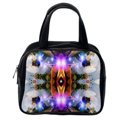 Connection Classic Handbag (one Side) by icarusismartdesigns
