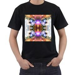 Connection Men s T Shirt (black) by icarusismartdesigns
