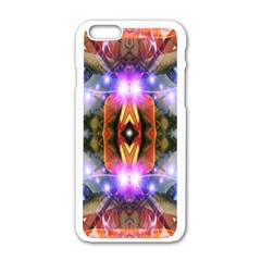 Connection Apple Iphone 6 White Enamel Case by icarusismartdesigns