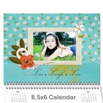Wall Calendar 8.5 x 6: Live, Laugh, Love - Wall Calendar 8.5  x 6