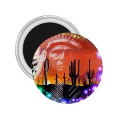 Ghost Dance 2 25  Button Magnet by icarusismartdesigns